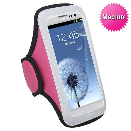 Bandit Armband (Medium Vertical Pouch Sports Arm Band Phone Holder Mobile Device Cell )