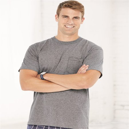 Bayside Union-Made Short Sleeve T-Shirt with a Pocket