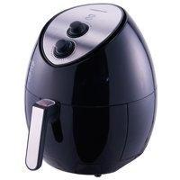 Farberware 3.2-Quart Oil-Less Multi-Functional Fryer, Black