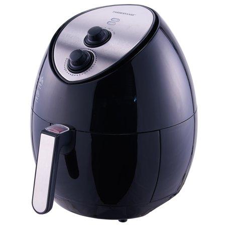 Farberware 3.2 Quart Oil-Less Multi-Functional Fryer, Black