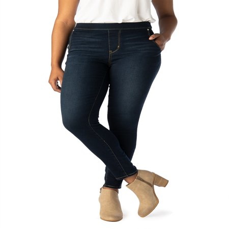 Signature by Levi Strauss & Co. Women's High Rise Pull On Jeggings