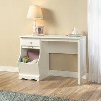 Sauder Storybook Kids Desk, Soft White Finish