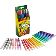 Crayola Silly Scents Twistables Crayons, Sweet Scented Crayons For Kids, 24 Count