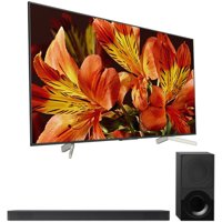 """Sony 75"""" Class 4K Ultra HD (2160P) HDR Android Smart LED TV (XBR75X850F) with Sony 2.1ch Soundbar with Dolby Atmos"""