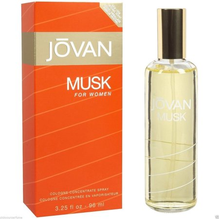 Jovan Musk Cologne Concentrate Spray for Women 3.25 - Jovan Musk Perfume
