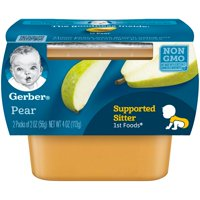 Gerber 1st Foods Pear Baby Food, 4 oz. (Pack of 8)