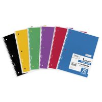 Mead 1-Subject Wide Ruled Spiral Notebook