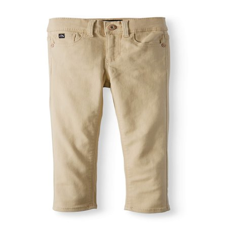 Skinny Khaki Pants (Toddler Girls)](Girls Gold Pants)