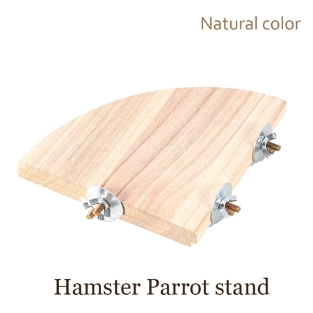 Parrot Gym - TOPINCN Wooden Parrot Bird Budgie Pet Perch Platform Gym Toy Cage Perches Stand Gifts US