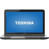 "Toshiba Mercury Silver 15.6"" Satellite L855S Laptop PC with Intel Core i3-3120M Processor and Windows 8 Operating System"