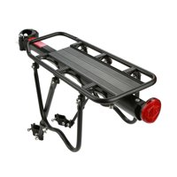 Bike Cargo Rack Aluminum Alloy Mountain Bike Bicycle Rear Rack Bicycle Carrier Rack Luggage Protect Pannier Cycling Accessory