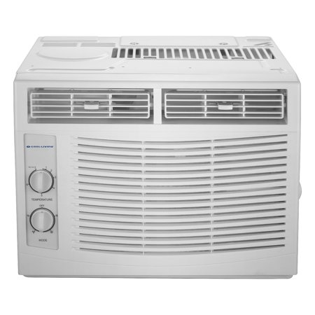 - Cool-Living 5,000 BTU Window Air Conditioner, 115V With Window Kit