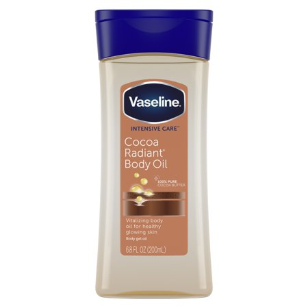 Vaseline Intensive Care Cocoa Radiant Body Gel Oil, 6.8 (Raw Body Oil)