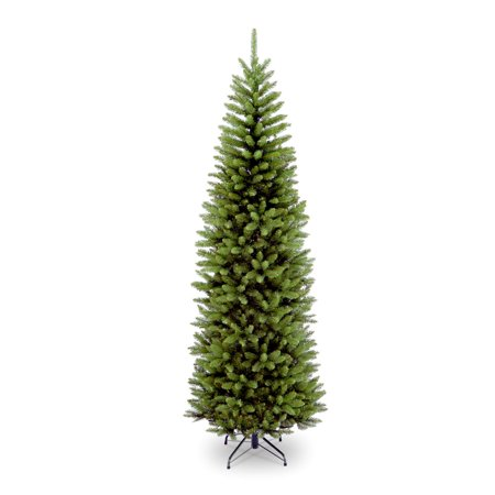 National Tree 7 ft Unlit Pencil Kingswood Fir Artificial Christmas -
