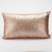7696b88a1136 Sequins Sofa Bed Home Decoration Festival Pillow Case Cushion Cover