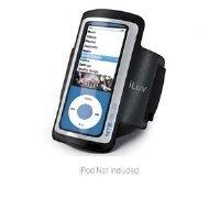 iLuv Lightweight Armband Case for iPod nano 5G (Black)