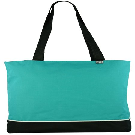 Ensign Peak Zipper Shoulder Tote - Sturdy Tote Bags