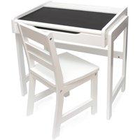Lipper International Chalkboard Kids Desk and Chair Set