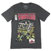 fc9ec08bee1 Teenage Mutant Ninja Turtles The Shredder Comic Book T-Shirt TMNT Mens  Charcoal
