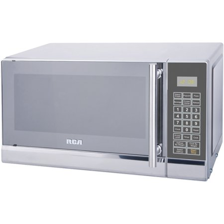 Rca 700 Watts 07 Cu Ft Stainless Microwave Rmw741 Stainless Steel