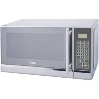 RCA 700 Watts 0.7 Cu. Ft. Stainless Microwave RMW741 Stainless Steel