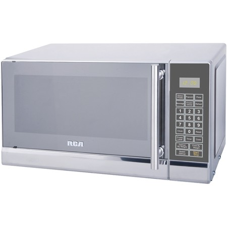 Rca Microwave (RCA 700 Watts 0.7 Cu. Ft. Stainless Microwave RMW741 Stainless Steel)