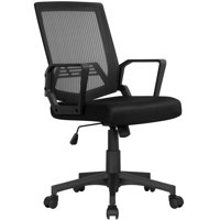 Deals on Easyfashion Mid-Back Mesh Office Chair Ergonomic Computer Chair