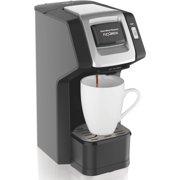 Hamilton Beach 49974 FlexBrew Single-Serve Coffee Maker for K-Cups and Ground Coffee, Black