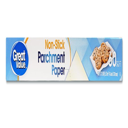 Great Value Non-Stick Parchment Paper, 60 sq ft (Wax Paper In Place Of Parchment Paper)