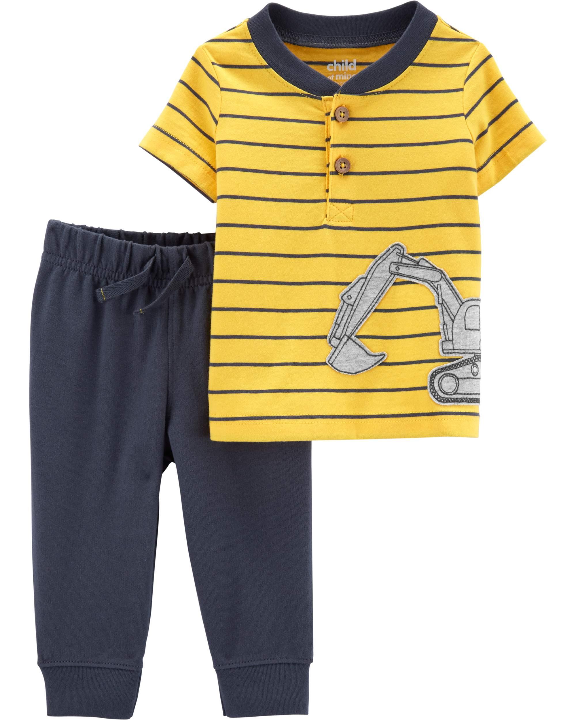 LITTLE REBELS 2T Toddler Boys 2Pc Short Set T-Shirt Alligator Mouth Opens