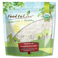 Food To Live ® Organic Shredded Coconut (Desiccated, Unsweetened, Non-GMO, Bulk) (12 Ounces)