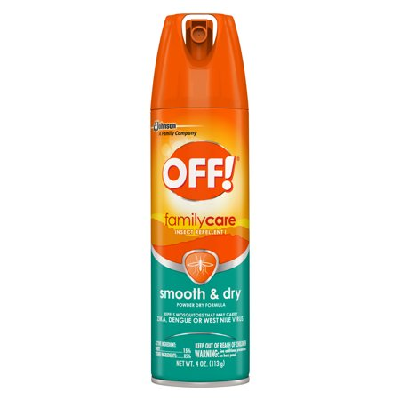 OFF! FamilyCare Insect Repellent I, Smooth & Dry, 4 oz, 1 ct (Personal Insect Repellent)