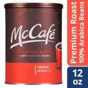 McCafé Premium Roast Ground Coffee 12 oz Canister