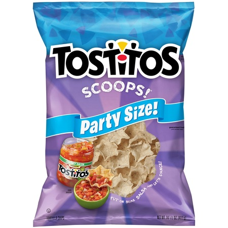 Tostitos Scoops! Party Size Tortilla Chips, 14.5 Oz. (White Cheddar Tortilla Chip)
