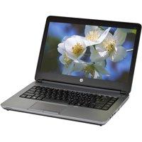 """Refurbished HP 640 G1 14"""" Laptop, Windows 10 Pro, Intel Core i5-4300M Processor, 8GB RAM, 750GB Hard Drive"""