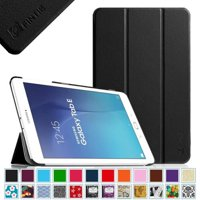 For Samsung Galaxy Tab E 9.6 / Samsung Tab E Nook 9.6 Tablet Case - Fintie Slim Lightweight Stand Cover, Black