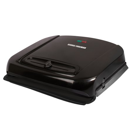 George Foreman 6 Serving Removable Ceramic Plate Electric