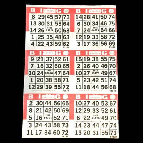 photograph about Printable Bingo Numbers 1 75 identify Bingo Playing cards