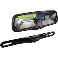 PYLE PLCM4550 - Backup Car Camera Rear View Mirror Screen Monitor System with Parking & Reverse Safety Distance Scale Lines