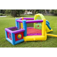 Magic Time Bounce 'N' Play Super Fort Sport Bouncer