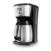 Black & Decker 12 Cup Programmable Thermal Stainless Steel Coffee Maker, 1 Each
