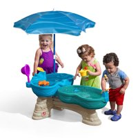 Step2 Big Bubble Blower Splash Kids Indoor and Outdoor Water Toy Play Table Set