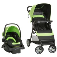 Cosco Simple Fold™ Travel System, Bright Lime