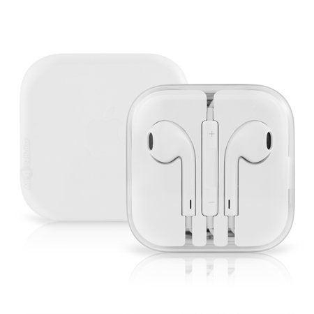 2 Pack Apple Earpods OEM Original Stereo Headphones w/Control-White MD827LL/A - Headphone Two Pack