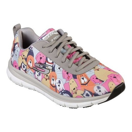 Skechers Womens Comfort Flex Low Top Lace Up Fashion Sneakers