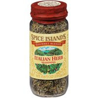 (2 Pack) Spice Islands Gourmet Blends Italian Herb Seasoning, 0.65 oz