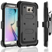 Galaxy S6 Edge Plus Case, [SUPER GUARD] Dual Layer Protection Holster Locking Belt
