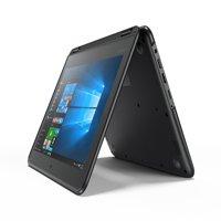 "Lenovo 11.6"" N23 Convertible Touchscreen Notebook, Intel Celeron N3060, 1.6GHz, 4GB Memory, 32GB Storage, Windows 10 Pro, Black"