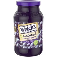 (4 Pack) Welch's Natural Concord Grape Spread, 17 oz