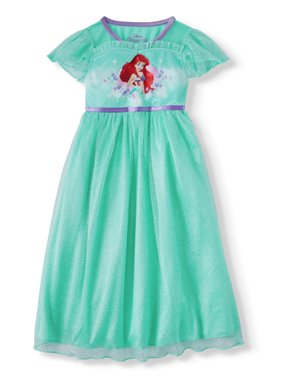 The Little Mermaid Short Sleeve Fantasy Nightgown (Toddler Girls)